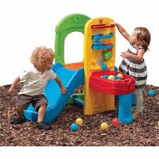 Step2 Roller Coasters Wagons U0026 by Indoor Outdoor Slide Kids Play Ball Fun Climber Toddlers Activity