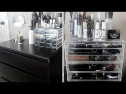 Ikea Kullen 5 Drawer Dresser by Part 2 Makeup Organization Ikea Kullen Dresser U0026 Muji Acrylic