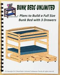 bunk bed woodworking plan not a bed to build your own full over