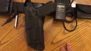 law enforcement duty belt setup youtube