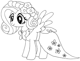 Click To See Printable Version Of My Little Pony Fluttershy Coloring Page
