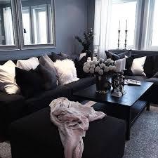die besten 25 schwarzen sofaideen auf black
