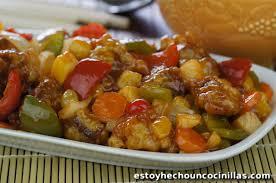 cuisine chinoise recette de porc aigre doux cuisine chinoise