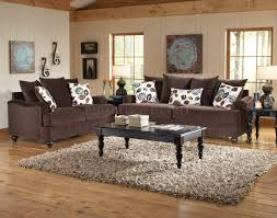 Brown Couch Decor Living Room by Seater Leather Look Sofa Set In Brown Seater Leather Look Sofa Set