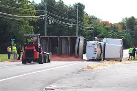 Overturned Grain Truck Closes Route 213 | Spotlight ... Overturned Truck On Route 143 Sherbrooke Record Overturned At Forestbrook Road Entrance Ramp To Highway 501 Dump Causes Delays 94 In Lafayette New North Jersey M50 A Car Park This Morning As Traffic Cleared From Boxwood Truck Crashes Spills Pennies I95 Delaware 6abccom Issues Daily News Summary Update West Avenue Plagued By Accidents Local Dumps Olive Oil Onto I275 Hillsborough Ave Sends Driver Hospital Morgantoncom