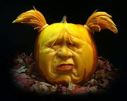 Cute Carved Pumpkins Faces by Mind Blowing Pumpkin Carvings By Ray Villafane