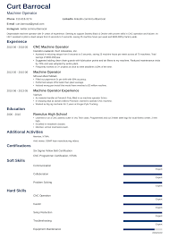 Machine Operator Resume: Samples And Writing Guide [20+ ... 10 Cover Letter For Machine Operator Proposal Sample Publicado Machine Operator Resume Example Printable Equipment Luxury Best Livecareer Pin Di Template And Format Inspiration Your New Cover Letter Horticulture Position Of 44 Lovely Samples Usajobs Beautiful 12 Objectives For Business Rumes Mzc3