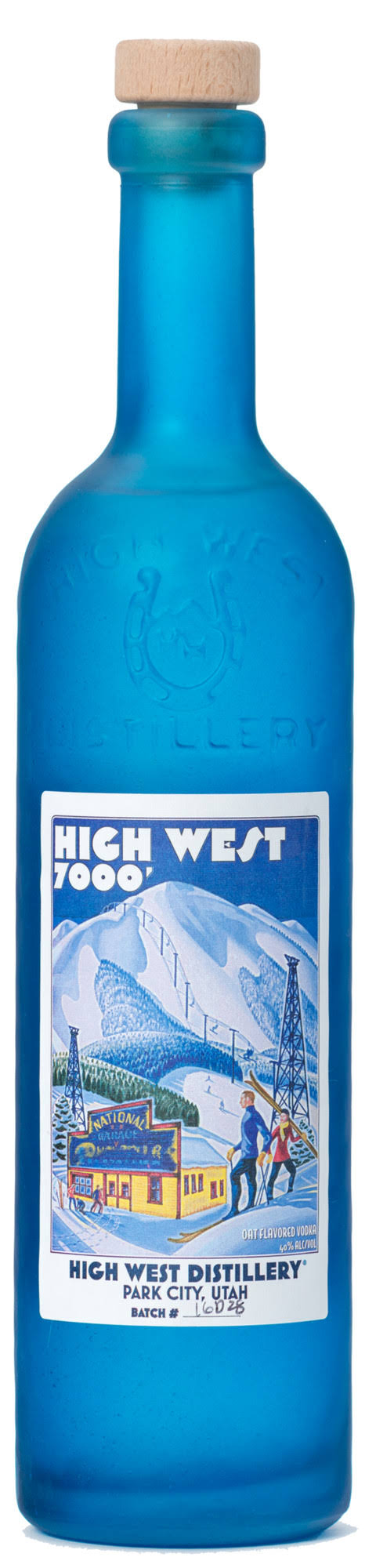 High West Vodka 7000 - 750 ml bottle