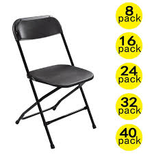 100 Event Folding Chair 8 Pcs Plastic S Stackable Wedding Party