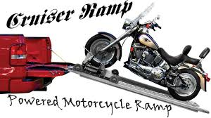 100 Truck Bed Motorcycle Lift Powered Ramp