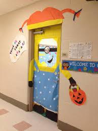 Halloween Classroom Door Decorations Pinterest by Halloween Minion Classroom Door Decoration Classroom Doors I