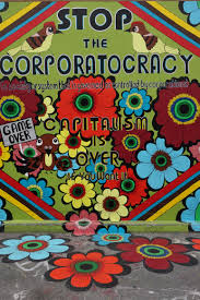Clarion Alley Mural Project Address by Stop The Corporatocracy Street Art Sf