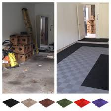 Garage Flooring Drain Tiles