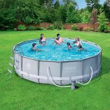 Splashing Deal On Above Ground Swimming Pool Set