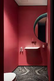 naturstein und rote wände badezimmer kosten badezimmer