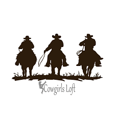 THREE COWBOYS Western Horses Decal 8-10-12 Inch Ships Free USA For ... Details About Horse Vinyl Car Sticker Decal Window Laptop Oracal Medieval Knight Jousting Lance Horse Decals Accsories For Car Vinyl Sticker Animal Stickers Made By Stallion Tribal Decal J373 Products Graphics For Trailers I Love My Arabianhorse Vehicle Or Trailer Country Cutie With A Rock N Roll Booty Southern Brand New Carfloat Tack Box 4wd Wall Stickers Wall 23 Decals Laptop Cowgirl And Horse Cartoon Motorcycle Fashion