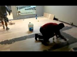 how to install vct tile
