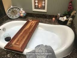 Teak Bathtub Tray Caddy by Bathtubs Mesmerizing Bathtub Tray Plans 134 Stainless Bath Caddy