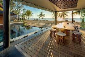 100 Houses In Phuket Pool Glass Walls Dining Space Beach Sea Views Iala