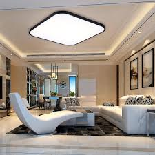 Details About 30W Dimmable Square LED Flush Mount Ceiling