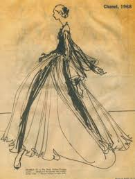 Chanel Fashion Sketches Design Images
