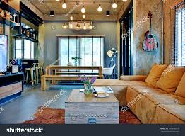 100 Loft Style Home Decorated Beautifully There Stock Photo Edit Now