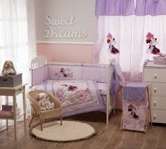 Nursery Crib Bedding Sets U003e by Disney Crib Bedding Minnie Mouse Butterfly Charm 4 Piece Crib