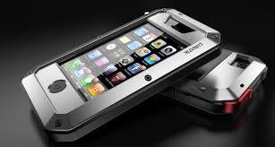 LUNATIK Taktik Protecting Aluminum Metal Case for iphone 5 silver