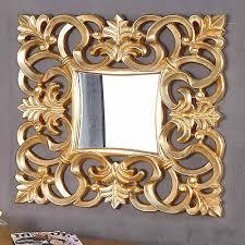 antike wandspiegel gold antik ornamente barockspiegel 43x37
