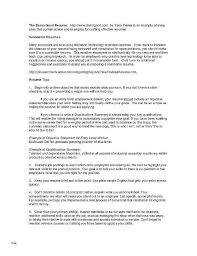 Career Change Resume Objective Inspirational General Skills Examples