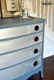 Black Dresser Pink Drawers by Sophia U0027s Slate Blue Metallic Dresser Makeover