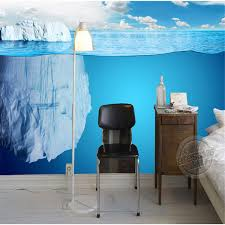 Modern 3D Iceberg Wallpaper Seascape Photo Custom Mural Painting Large Wall Art Room Decor Kids Bedroom Study In Wallpapers From Home