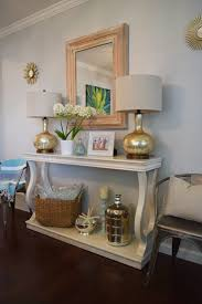 How To Decorate A Console Table