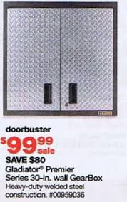 Gladiator Storage Cabinets At Sears by Sears Black Friday 2010 Tool Deals