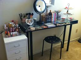 Bathroom Vanity With Built In Makeup Area by Diy Makeup Vanity Brilliant Setup For Your Room
