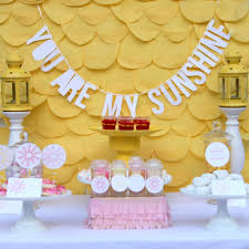 You Are My Sunshine Shower And A Bunch Of Cheerful Spring Baby Ideas