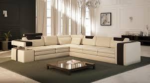 canapé luxe italien canapé angle en cuir vachette blanc