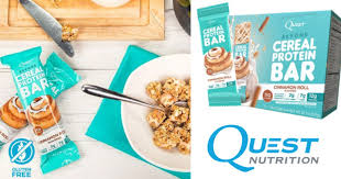 Run Over To Amazon And You Can Grab 18 Quest Beyond Cereal Bar In Cinnamon Roll Flavor For Just 1612 When Choose Subscribe Save