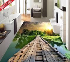 großhandel benutzerdefinierte 3d tapete badezimmer wandbild gemälde 3d pvc selbstklebende wandtattoo tapete wasserdicht