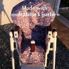 chaise prima pappa diner pdf pattern diy high chair cover patron et tuto pdf housse