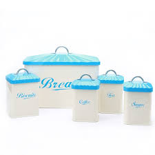 Turquoise Kitchen Canister Sets by Homebyjackie 5 Piece Kitchen Canister Set U0026 Reviews Wayfair