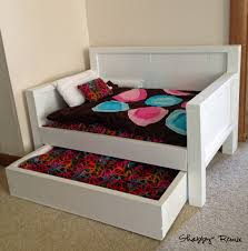 ana white american doll trundle day bed diy projects