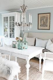 möbel shabby chic wohnzimmer sisalteppich weiße einrichtung