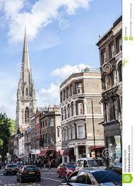 100 Kensington Church London Streets Of Street Editorial Stock Image