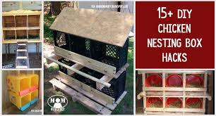 Instructions To Build A Toy Box by 15 Chicken Nesting Box Hacks Mom With A Prep