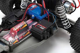 100 Traxxas Stadium Truck Rustler XL5 110 RTR 2WD W Battery And