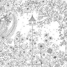 Stunning Idea Garden Coloring Book Best Secret Photos