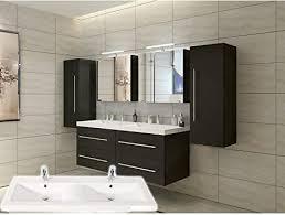 badmöbelset elegantes doppel badezimmer möbelset mit
