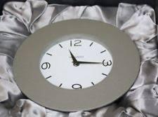 movado analog desk mantel shelf clocks ebay