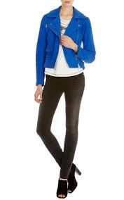 159 best blue leather jacket images on pinterest leather jackets